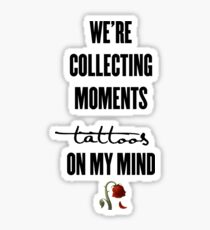 tattoos on my mind // rose collection Sticker