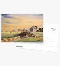St Andrews Golf Course Scotland Postcards