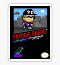 Freddie Dredd - Retro Gaming Box Sticker