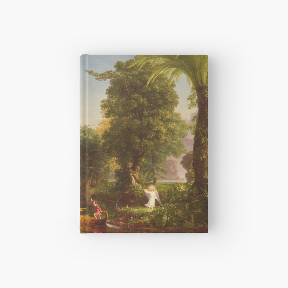 The Voyage of Life Youth Painting by Thomas Cole Hardcover Journal