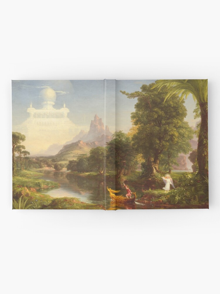 Alternate view of The Voyage of Life Youth Painting by Thomas Cole Hardcover Journal