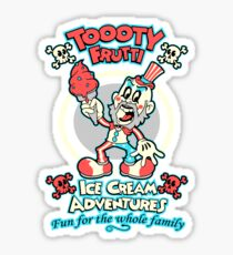 Toooty Frutti Sticker