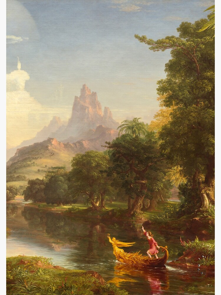 The Voyage of Life Youth Painting by Thomas Cole by podartist