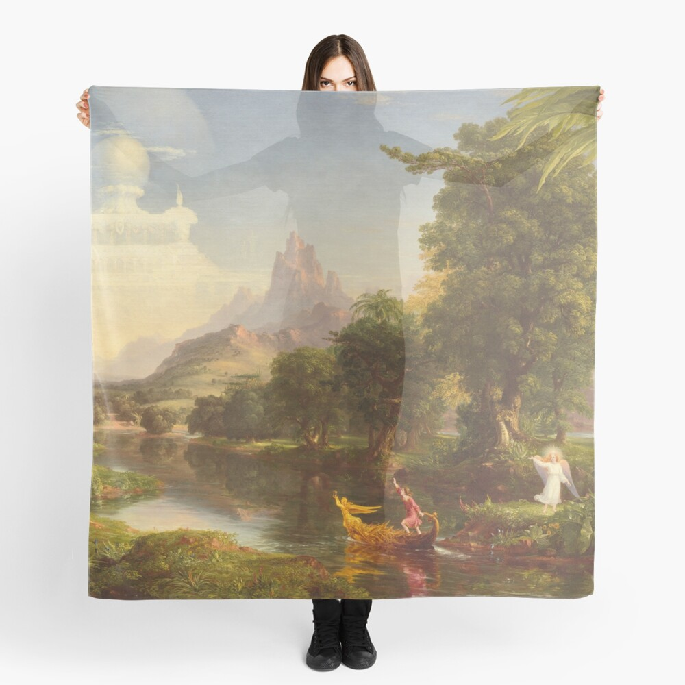The Voyage of Life Youth Painting by Thomas Cole Scarf