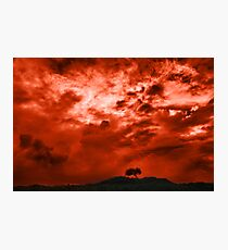 Shepherds' Warning Photographic Print