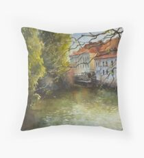 Inspired by Prague - 2 Throw Pillow