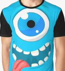 Funny monster Graphic T-Shirt