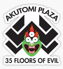 Akutomi Plaza Samurai Sticker