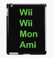 Wii Wii Mon Ami iPad Case/Skin