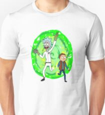 Rick and Morty - Back to the Future T-shirt Unisex T-Shirt