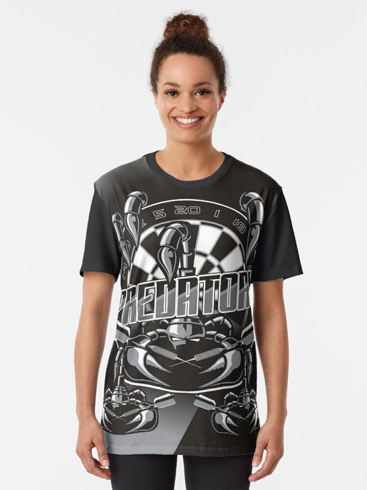 Alternate view of Predatory Darts Graphic T-Shirt