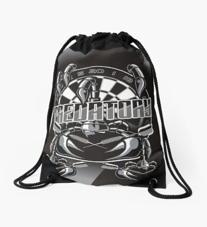 Predatory Darts Drawstring Bag