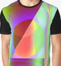Abstrahierte Projektion Graphic T-Shirt