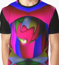 Abstrakte Knospe Graphic T-Shirt