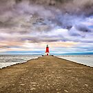 ann arbor michigan lighthouse by ALEX GRICHENKO