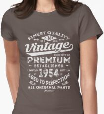 Vintage 1954 Birthday Gift Idea Womens Fitted T-Shirt