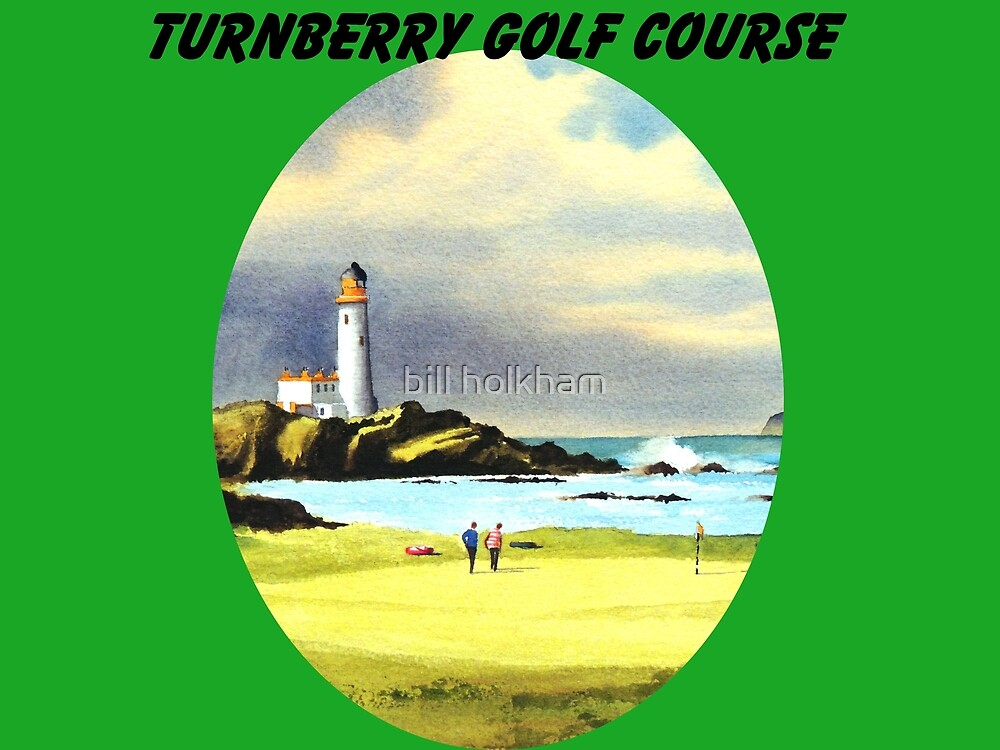 Turnberry Golf Course Scotland With Banner by bill holkham