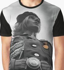 NVA Military, Woman in uniform Graphic T-Shirt