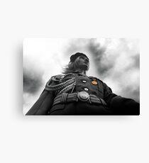 NVA Military, Woman in uniform Canvas Print
