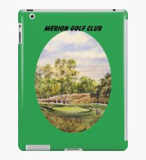 Merion Golf Course With Banner iPad Case/Skin