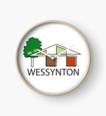 Celebrate Wessynton at 50! Clock