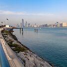 Abu Dhabi Cityscape by Viktoryia Vinnikava