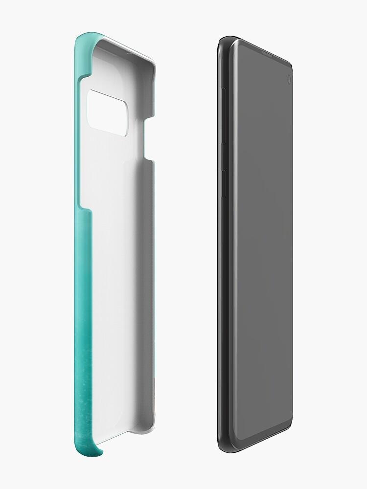 Vista alternativa de Funda y vinilo para Samsung Galaxy La vida acuática