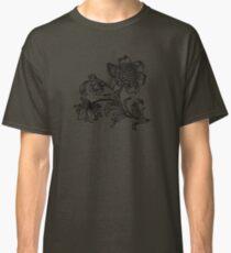 Flower Drawing Classic T-Shirt