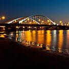 Al Maqta Bridge in Abu Dhabi, UAE by Viktoryia Vinnikava