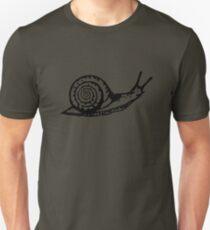 Snail Drawing Unisex T-Shirt