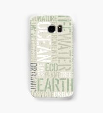 Ecology Typography Samsung Galaxy Case/Skin