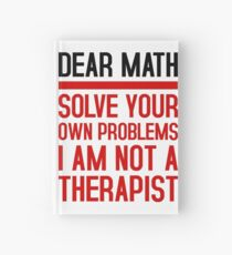 Love mathematic, solve your problems yourself! Hardcover Journal