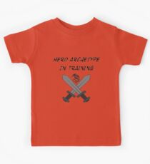 Hero Archetype In Training Kids Clothes