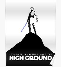 High Ground Prequel Memes Poster