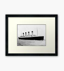RMS Titanic Framed Print