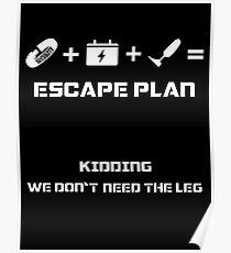 The Guardian's Escape Plan Poster