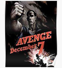 Avenge December 7th Poster