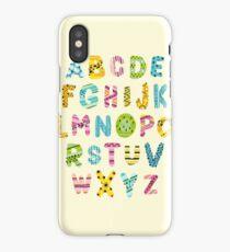 A to Z Alphabet iPhone Case/Skin