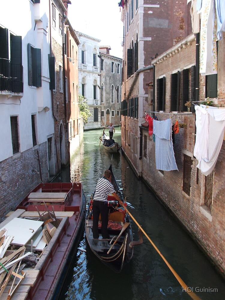 Sides Streets Of Venice by HOl Guinism