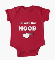 I'm with this Noob - PC Gamer Master Race Left Kids Clothes