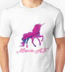 Majestic AF Unicorn Unisex T-Shirt