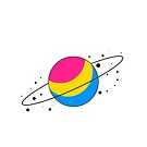 Pansexual Pride Planet by SavaMari