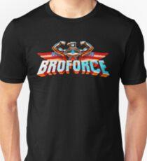 """""""Broforce"""" Pixel Logo T-Shirt"""