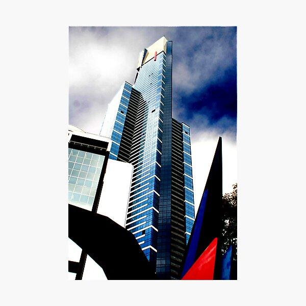Eureka Blue Photographic Print