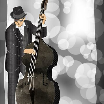 Double Bass by janetcarlson