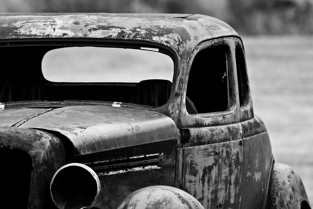 The old Car itself... by gresl