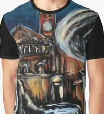 Haunted Evening Graphic T-Shirt