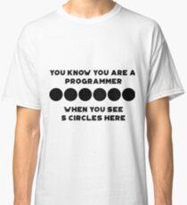 programming perks :D Classic T-Shirt