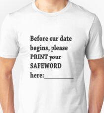SAFEWORD Unisex T-Shirt