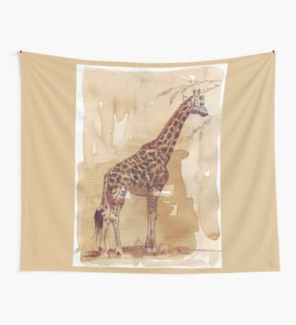 Lean and tall Wall Tapestry